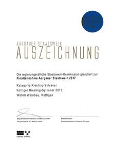 Staatswein_2017_Riesling-Sylvaner_Kütti