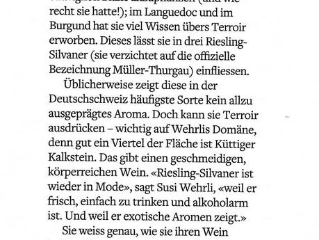 """""""Super Riesling-Sylvaner"""" - Unser """"Esprit"""" im Beilageblatt """"encore"""" de"""