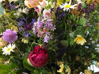 Slow Flowers - Blumen von hier und jetzt.