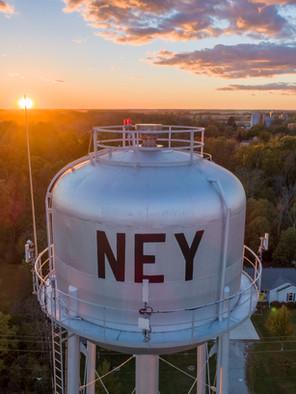 Ney Water Tower Sunset 102318.JPG