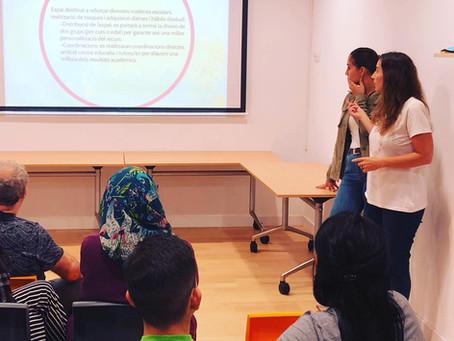 Presentació del projecte socioeducatiu i de lleure: