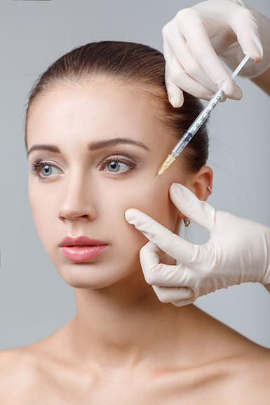 Cheek augmentation treatment