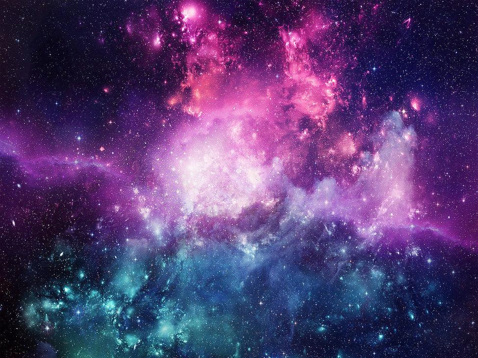 Universe filled with stars, nebula and g