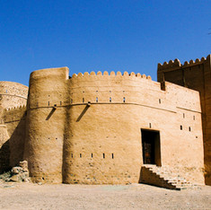 Exterior of Fujairah Fort