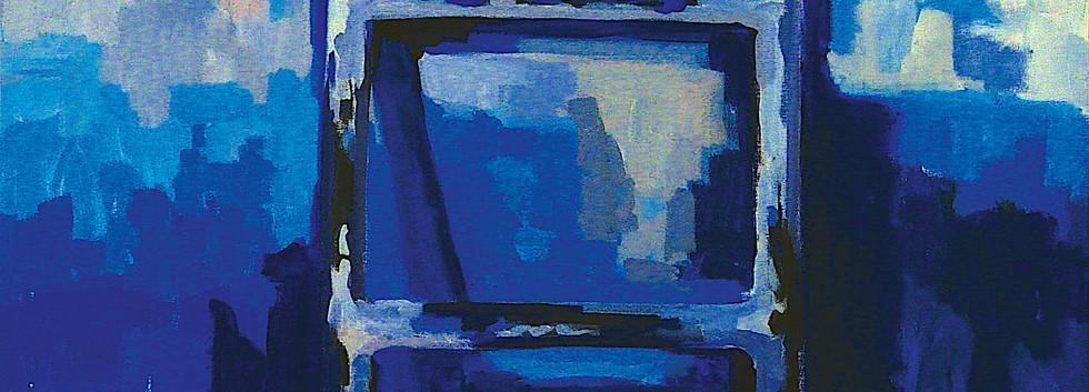 Farid Jahangir Pool Acrylic on canvas 100 x 120 cm