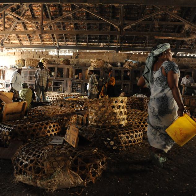 Market in Arusha, Tanzania