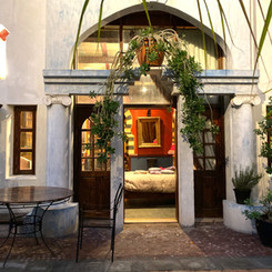 Guest Room, with direct access to the Courtyard