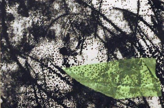 Abdul Raheem Salem Me and She Mono print 70 x 50 cm 2006