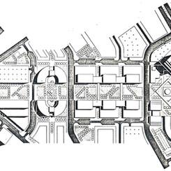 Urban design proposal of the esplanade section along Al Maktoum Road