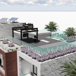 Roof of Jebel Ali Villa