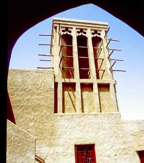 Sheikh Saeed House windtower