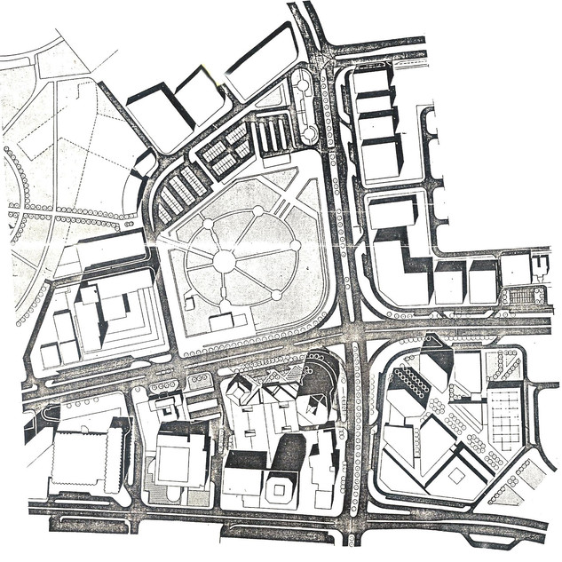 Urban design proposal for Union Public Square Park and the surrounding civic facilities