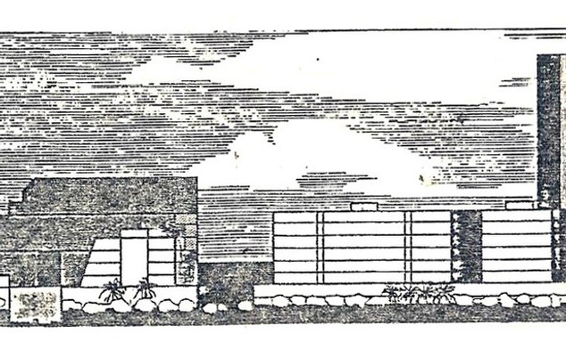 Proposed typical building forms in one of the subsectors