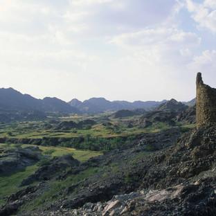 Maydaq Wadi in Fujairah