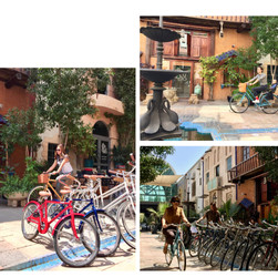 Sustainable transport use in the Courtyard
