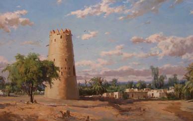 Mohseni Kermanshahi, Watch Tower, Al Ain