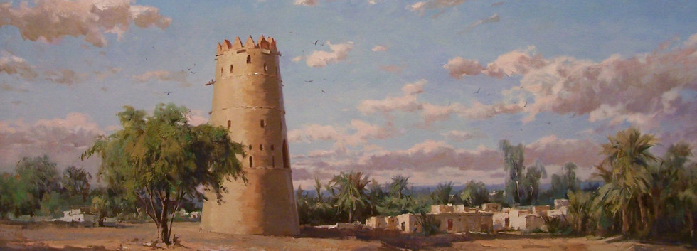 Mohseni Kermanshahi, Watch Tower, Al Ain