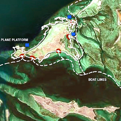 Proposal for access to Al Ghurub Island
