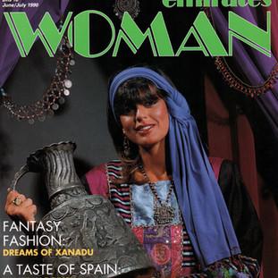Emirates Woman magazine cover