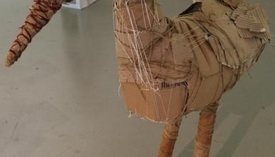 Installation view Yasmin Sinai Stork 102 x 79 cm