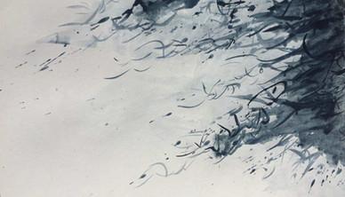 Frozen Winter 2 Watercolor 45.7 x 60.9 cm