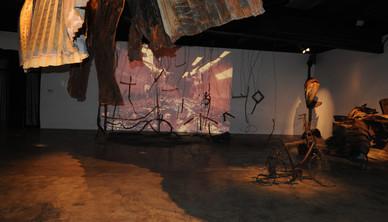 Installation view, March 2009