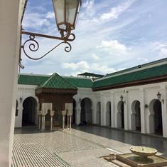 Al Attarine Madrasa - photo by Shabnam Arabi