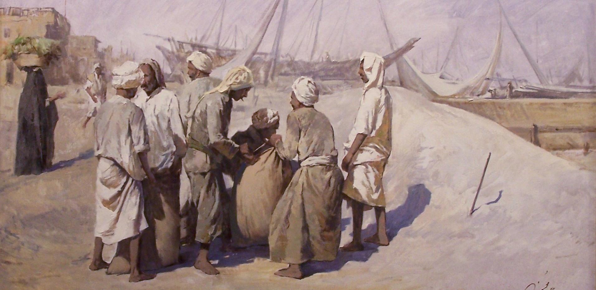 Mohseni Kermanshahi, Harbor Workers