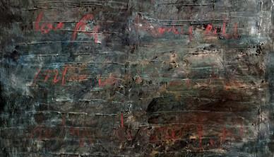 Fereydoun Omidi Oil on canvas 150 x 150 cm