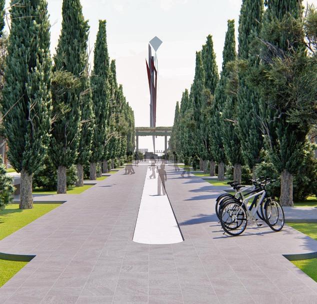 Main promenade