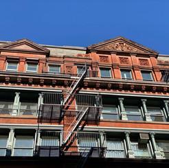 Manhattan loft exterior - 515 Broadway