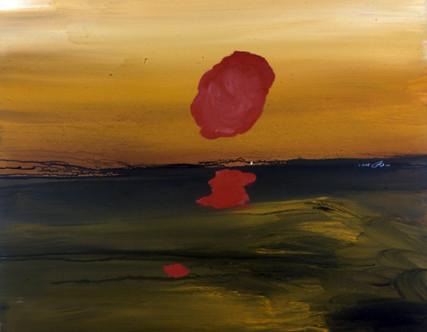 Mostafa Dashti Acrylic on canvas 150 x 150 cm 2002