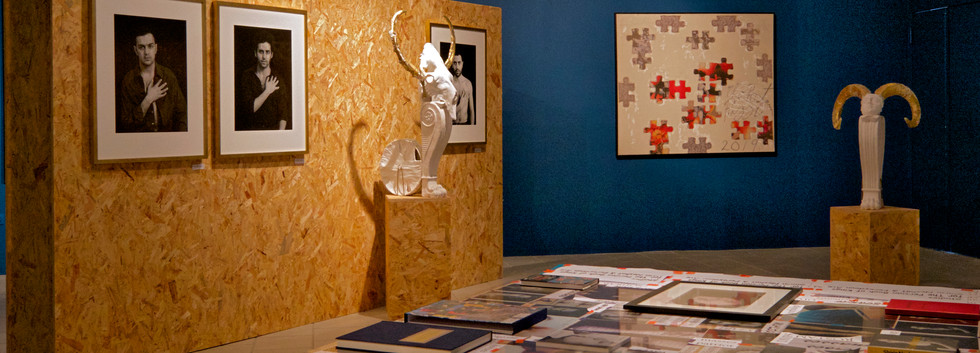 Visual Dialogues installation view