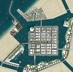 Dubai Waterfront site plan