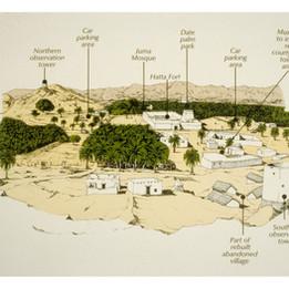 Proposal for restoration of the old Hatta village