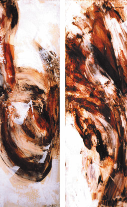 Oil on canvas 120 x 80 cm 1996