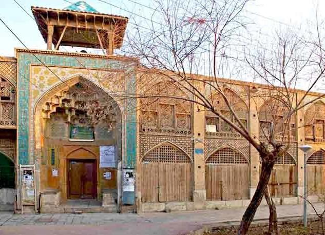 Ali Qoli Agha complex after restoration