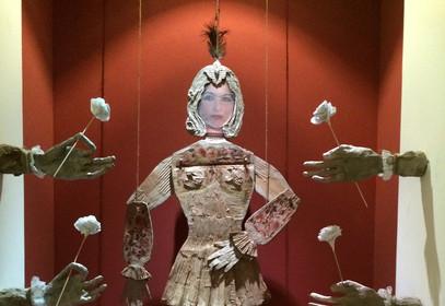 Yasmin Sinai Gordafarid Paper mache and cardboard 2015