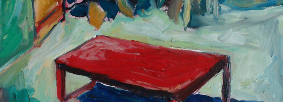 Hassan Sharif Garden Oil on canvas 100 x 70 cm 2007