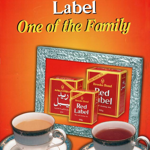 Brooke Bond Red Label advertisement