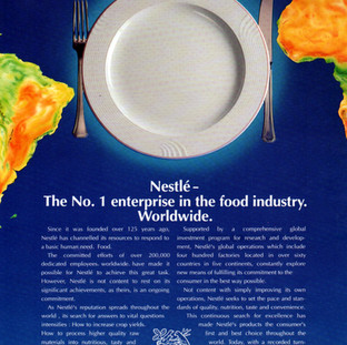 Nestle advertisement
