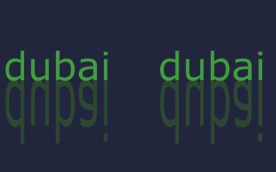 Dubai Dubai invitation card