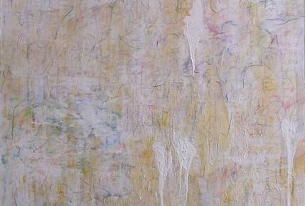 Nelda Gilliam Mix media on Canvas 100 x 150 cm