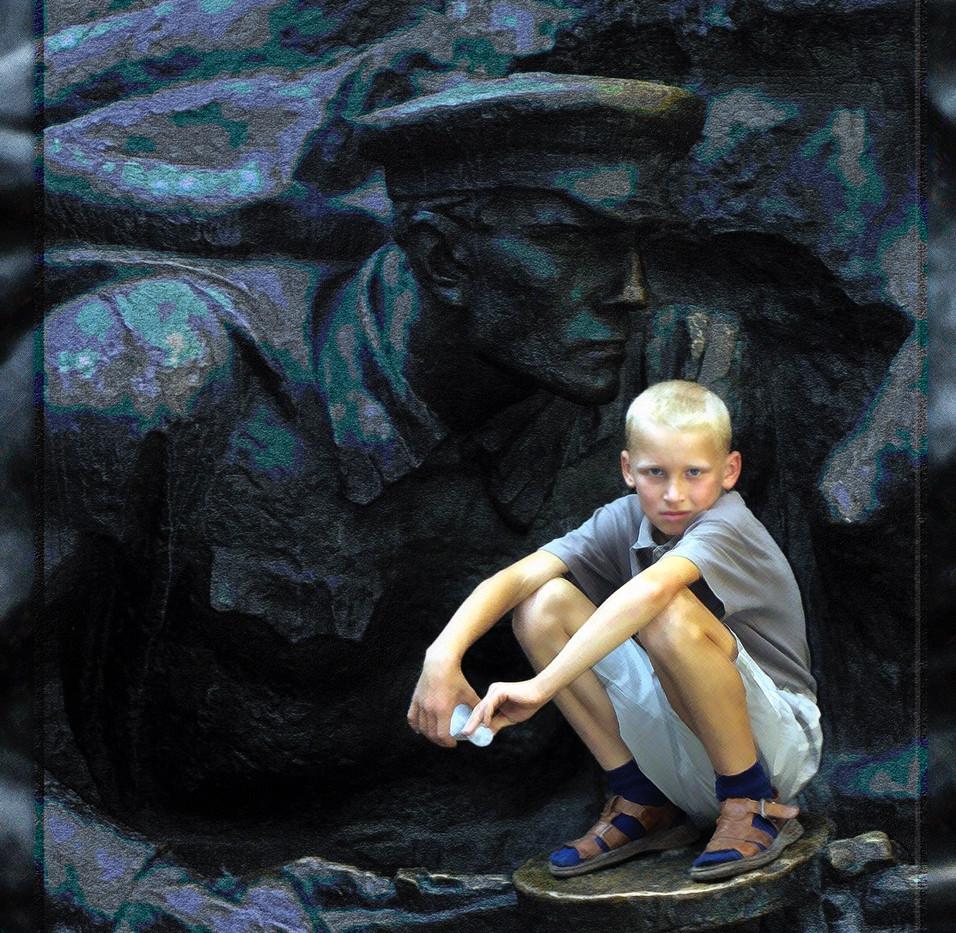 Claude Avezard Boy & Soldier
