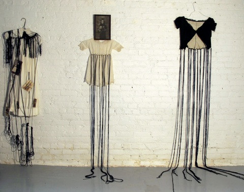 Cecilia Monero-Yaghoubi Empty dress 2011