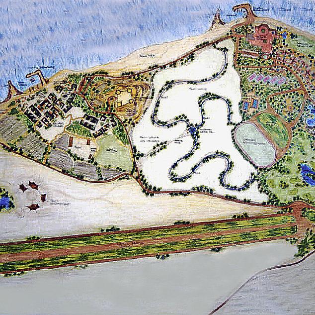 Master plan of As' Samaliah Island