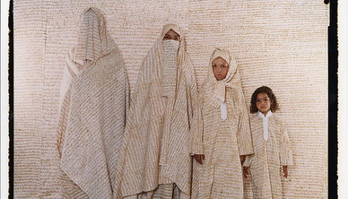 Lalla Essaydi Converging Territories Series 54 x 64 cm Edition of 100, 2004 (one of the last 10 editions)