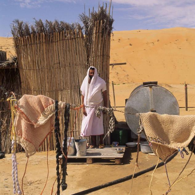 An Emirati man's home in Liwa
