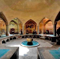 Interior of Ali Qoli Agha complex