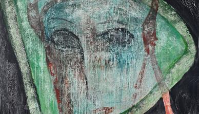 Shideh Tami Acrylic on canvas 145 x 160 cm